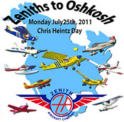 Zeniths to Oshkosh 2011