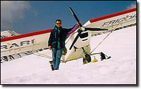 STOL CH 701: Mountain flying in the European Alps