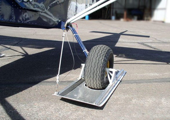Schieder wheel penetration ski's