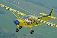 Flying the STOL CH 750