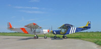 STOL CH 750 with the STOL CH 701  � 2008, Zenith Aircraft Company.