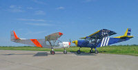 STOL CH 750 with the STOL CH 801  � 2008, Zenith Aircraft Company.