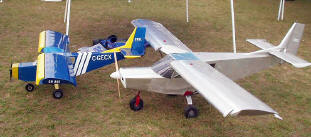 STOL CH 701 and 801 Scale R/C Models