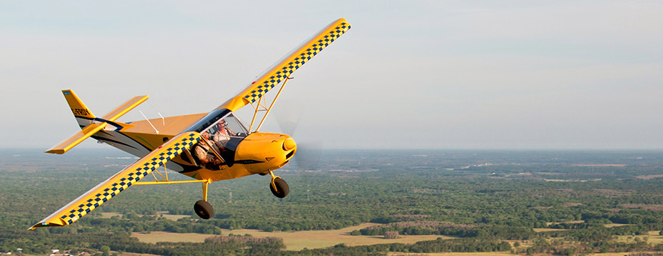 Small strip aircraft stol