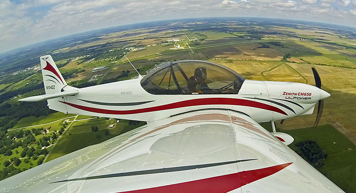 ZODIAC CH 650 - The NEW sport pilot-ready kit airplane from Zenith
