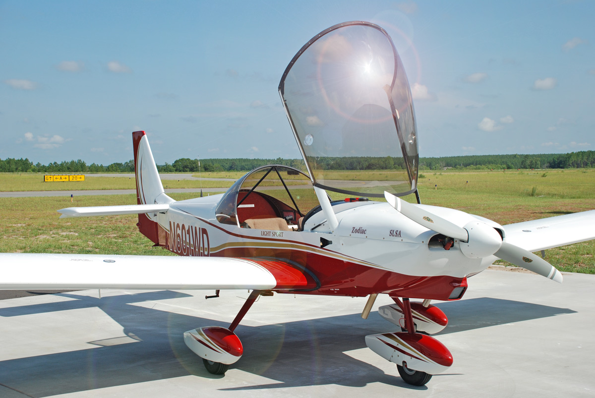ZODIAC CH 650 - The NEW sport pilot-ready kit airplane from Zenith