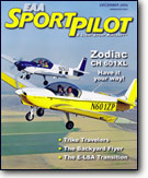 EAA Sport Pilot & Light-Sport Aircraft magazine, December 2006